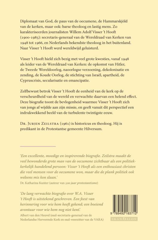 Jurjen Zeilstra,Visser `t Hooft - Biografie