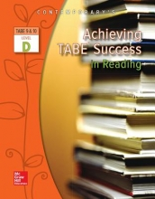 McGraw-Hill Education Achieving Tabe Success in Reading, Level D Workbook