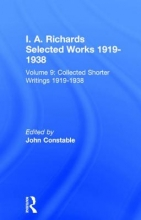 Collected Shorter Writings, Volume 9