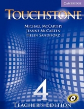 Mccarthy, Michael Touchstone Teacher`s Edition 4 with Audio CD