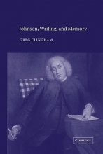 Clingham, Greg Johnson, Writing, and Memory