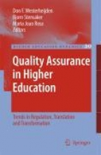 Don F. Westerheijden,   Bjorn Stensaker,   Maria Joao Rosa Quality Assurance in Higher Education