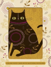 Quirky Cats Boxed Notecards