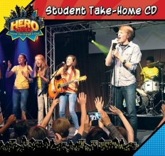 Vacation Bible School 2017 Vbs Hero Central Student Take-Home CD