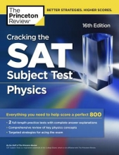 The Princeton Review Cracking the SAT Subject Test in Physics