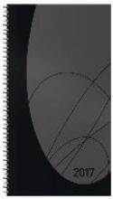 Taschenkalender Modus XL Flexi 2017 schwarz