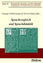 GEORG VELDRE-GERNER Sprachvergleich und Sprachdidaktik.