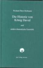 Beer-Hofmann, Richard Die Historie von König David