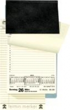 Tischkalender Merker PVC 2017 schwarz