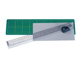, snijliniaal Alco met mat 380x100mm, snijvlak tot 33cm.