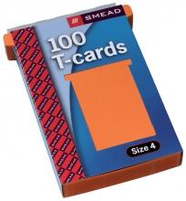, Planbord T-kaart Jalema formaat 4 107mm oranje