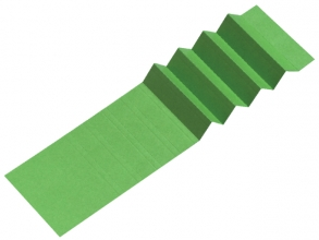 , Ruiterstrook voor Alzicht hangmappen 65mm groen