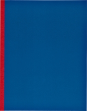 , Kasboek 165x210mm 1 kolom 160blz  rode rug assorti