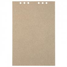 , Tekenpapier MyArtBook A4 110gr 6-gaats 20vel recycled kraft grijs