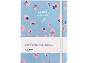 , A-Journal Schoolagenda 2021/2022 - Luipaard print