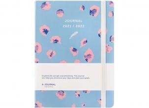 , A-Journal Schoolagenda 2021/2022 - Luipaard print