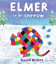 David  McKee Elmer in de sneeuw