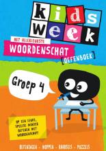 , Het allerleukste woordenschat oefenboek - Kidsweek in de klas groep 4