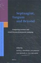 Michaël van der Meer Davis James Shepherd  Jan Joosten, Septuagint, Targum and Beyond