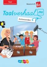 Hetty van den Berg, Tamara van den Berg, Jannie van Driel-Copper, Irene  Engelbertink Taalverhaal.nu Maatschrift Taal 6b Antwoorden
