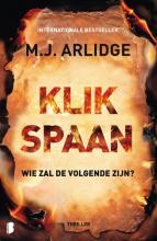M.J.  Arlidge Klikspaan