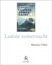 Maarten `t Hart , Laatste zomernacht - grote letter