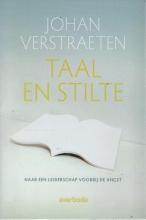 Johan  Verstraeten RE5096 Taal en stilte
