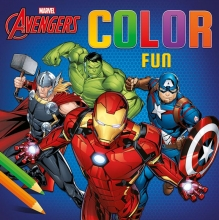 , Avengers Color Fun