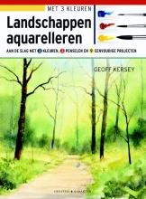 Geoff Kersey , Landschappen aquarelleren
