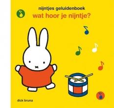 Dick Bruna , nijntjes geluidenboek