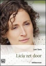 Leni  Saris Licia zet door- grote letter uitgave