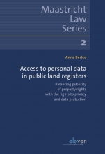 Anna Berlee , Access to Personal Data in Public Land Registers