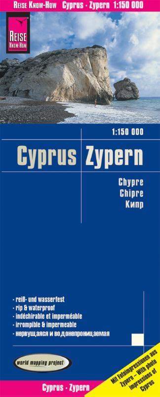 ,Reise Know-How Landkarte Zypern 1 : 150.000
