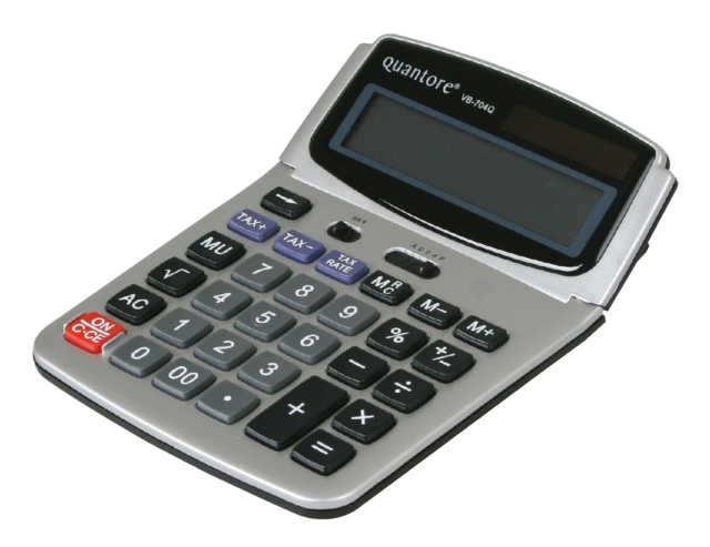 ,Rekenmachine Quantore VB704Q