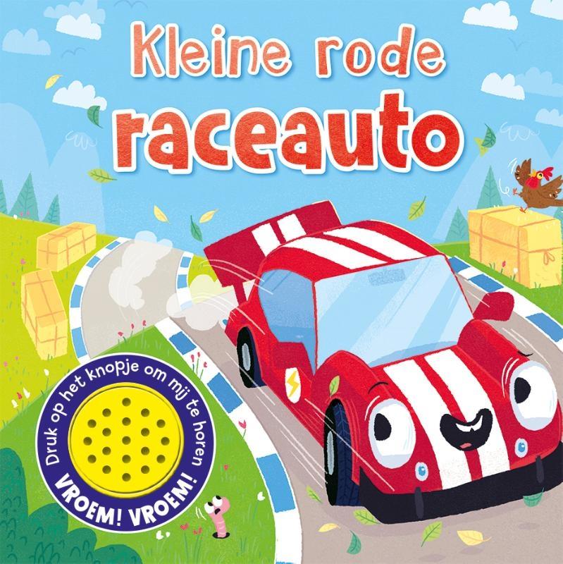 ,Kleine rode raceauto