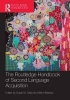 ,The Routledge Handbook of Second Language Acquisition