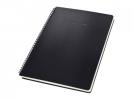 ,Notitieblok Sigel CONCEPTUM hardcover A4 zwart ruit