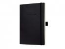 ,notitieboek Sigel Conceptum softcover A5 zwart blanko