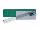 ,snijliniaal Alco met mat 380x100mm, snijvlak tot 33cm.
