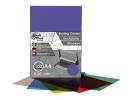 ,schutbladen ProfiOffice A4 200 micron 100 stuks transparant violet mat/glossy