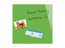 ,glasmagneetbord Be!Board 450x450mm groen