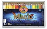 ,Kleurpotloden Koh-i-Noor Jumbo Magic doos 24  kleuren