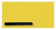 ,Magic-chart notes Legamaster 10x20 cm  geel