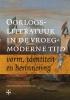 Oorlogsliteratuur in de vroegmoderne tijd,verbeelding, herinnering en identiteit