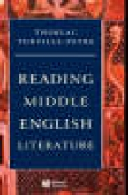 Turville-Petre, Thorlac Reading Middle English Literature