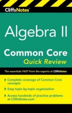 Taub-Hoglund, Wendy Cliffsnotes Algebra II Common Core Quick Review