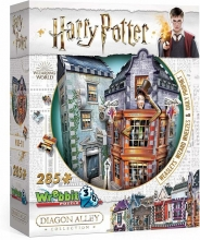 W3d-0511 , Puzzel harry potter weasleys wizard wheezes - puzzel - wrebbit 3d puzzel - 285