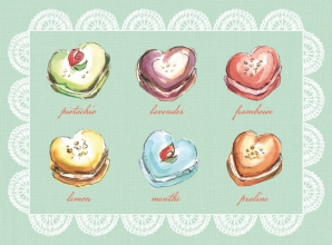 Macaroon Collection Everyday Embellished Notecards