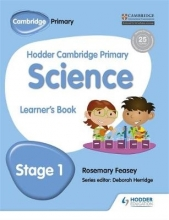 Feasey, Rosemary Hodder Cambridge Primary Science Learner`s Book 1