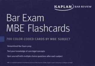 Bar Exam MBE Flashcards